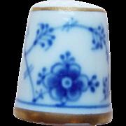 Vintage Denmark Porcelain Thimble
