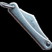 Sterling POCKETKNIFE Mechanical Vintage Charm