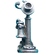 Sterling Candlestick Phone Vintage Charm