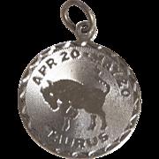 Sterling TAURUS Vintage Charm