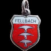 Vintage 800 Silver & Enamel Fellbach Charm