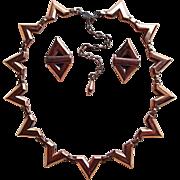 Gorgeous RENOIR Vintage Necklace Set