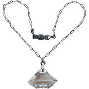 Art Deco Crystal Necklace for Doll