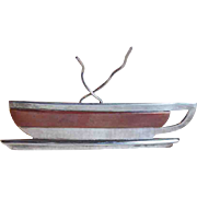 Sterling & Copper Cup of Hot Tea or Coffee Brooch
