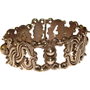 Fabulous SPRATLING 1930's Heavy Sterling Bracelet