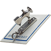 Sterling Sewing Machine Vintage Charm
