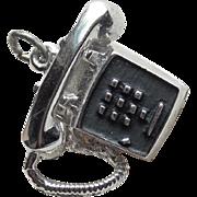 Sterling Telephone Vintage Charm