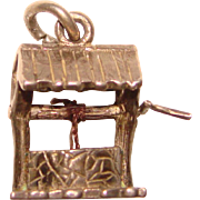 Sterling WISHING WELL Mechanical Vintage Charm