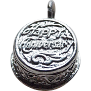 Sterling Mechanical 25th Anniversary Cake Vintage Charm