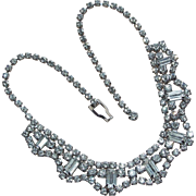 Signed WEISS Rhinestone Vintage Necklace