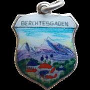 833 Silver & Enamel Berchtesgaden Germany Vintage Charm