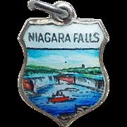 Sterling & Enamel Niagara Falls Vintage Charm