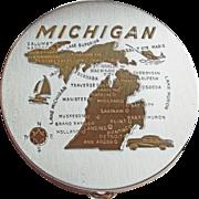 Michigan Vintage Souvenir Compact