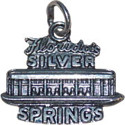 Sterling Florida Silver Springs Vintage Charm