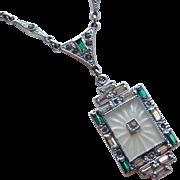 Fabulous Art Deco Camphor Necklace