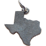 James Avery Sterling Texas State Charm