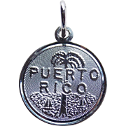 Sterling Puerto Rico Vintage Charm