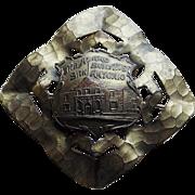 Antique ALAMO Victorian Sash Pin Brooch - San Antonio Texas