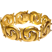 Gorgeous Metropolitan Museum of Art Dolphin Design Bracelet