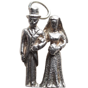 Sterling Bride & Groom Vintage Charm