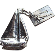 Sterling Hawaiian Hawaii Boat Vintage Charm - Signed Bell Trading Post