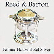 Vintage Reed & Barton Hotel Silver - Palmer House Chicago