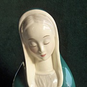 Madonna by Gort Bone China 1-M Florence signed Lee
