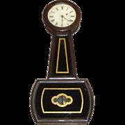 Antique E. Howard & Co. Boston Banjo Clock