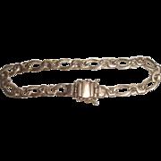 10k Gold Italy Link Bracelet  10.3 Grams