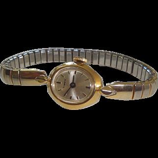 Vintage Goldtone Timex Wrist Watch