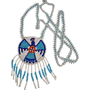 Nice Beaded Leather Necklace