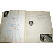 1944 Deems Taylor B'day AUTOGRAPHS Album / Music Opera Dick Rodgers ++