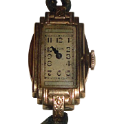 Vintage 10k Gold Filled Elgin Wrist Watch