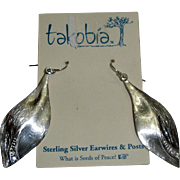 Pretty Takobia Seeds of Peace Earrings