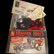 1964 Munsters TV Show Munsters Koach AMT Model Kit