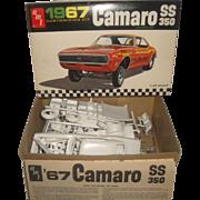 AMT Car Model Kit 1967 Chevrolet Camaro SS 350