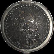 Vintage 1903 Art Nouveau Bostonia Lady's Coin Purse - Tan