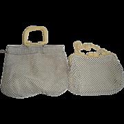4 Vintage Whiting & Davis Alumesh Purses / Handbags