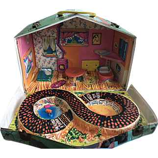 Vintage 60's Mattell Liddle Kiddles Klub House Accessories
