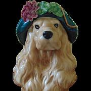 Vintage Betlar Porcelain Golden Retriever Dog Statue
