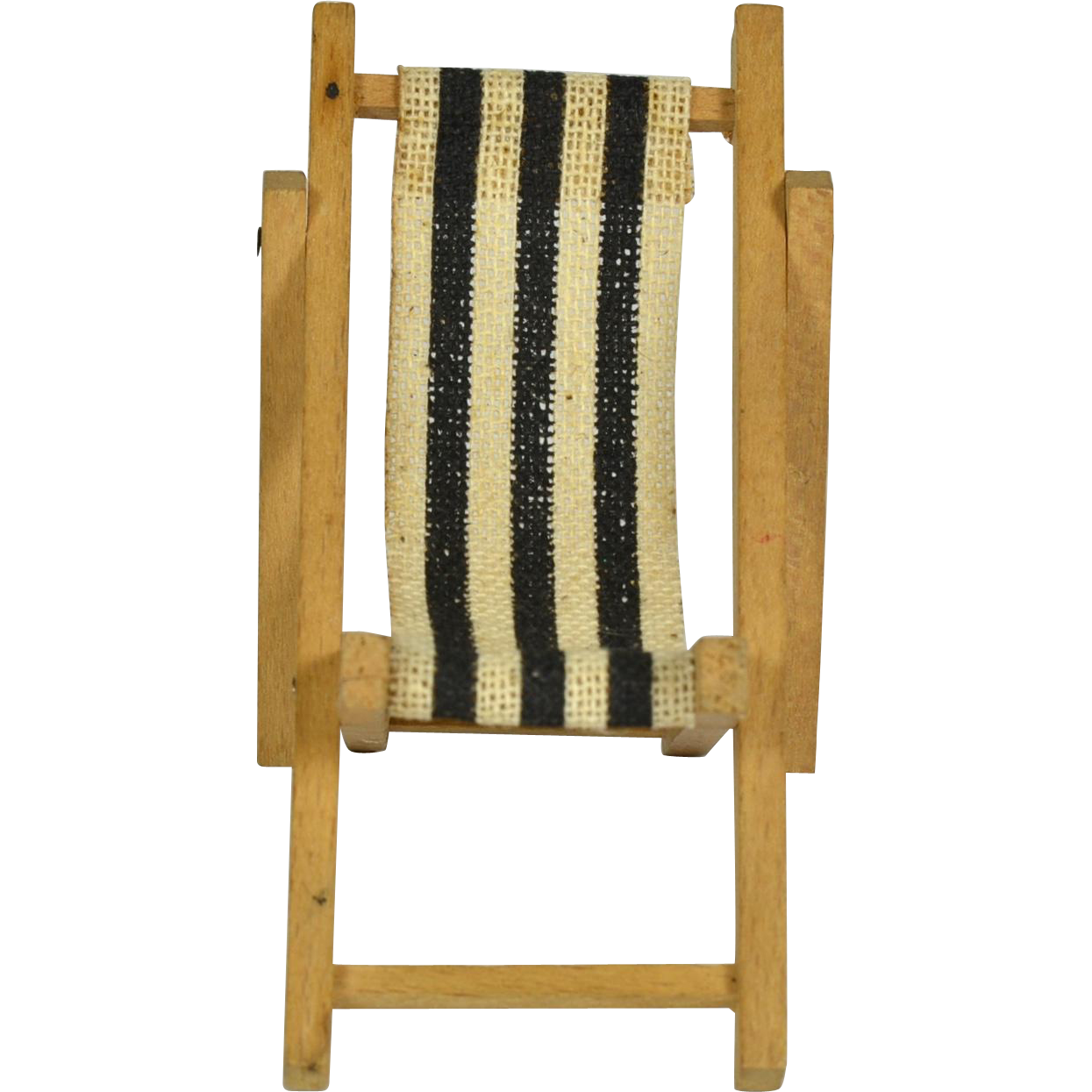 "German Wooden Folding Lawn Chair 3"" tall from crabel on Ruby Lane"