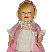 "Gladdie, Ceramic head doll, 18"" Tall"