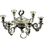 Metal Doll House Chandelier, Ex