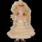 "Kestner All Bisque #130 Doll, 6"" tall"