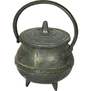 "Large Kettle for Doll House, 1 3/4"" tall"