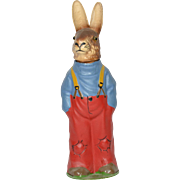 German Rabbit Candy Container, 1930's