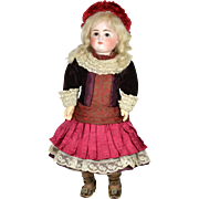 "Early Kestner Doll, 16 1/2"" tall, 1880""s"