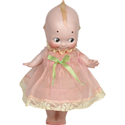 "Large All Bisque Kewpie, 8"" tall"