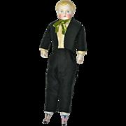 "All Original Parian Boy, 12"" tall, Ca. 1870"