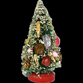 "Vintage Bottle Brush Xmas Tree, Ca. 1950""s"